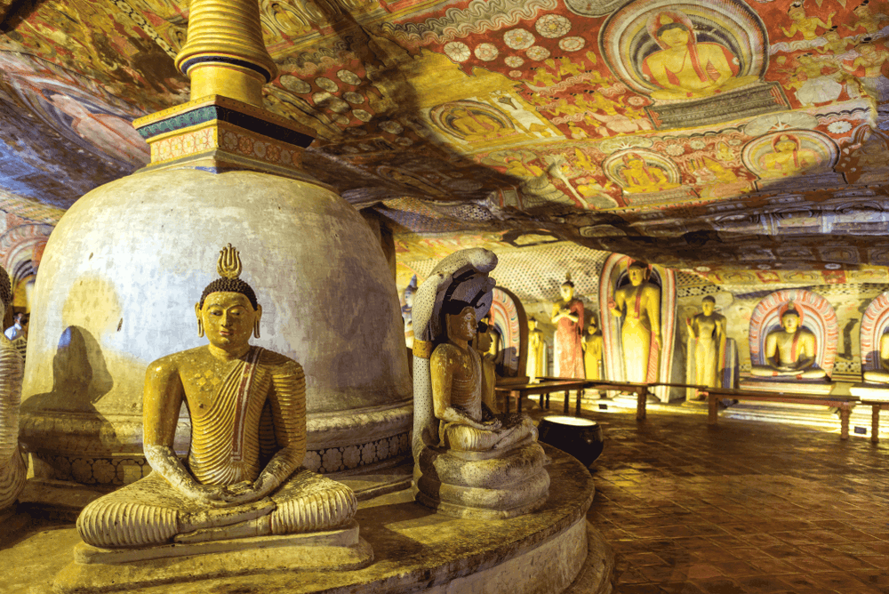 Dambulla Golden Cave Temple