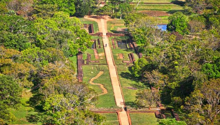 Garden Scaping of Sigiriya