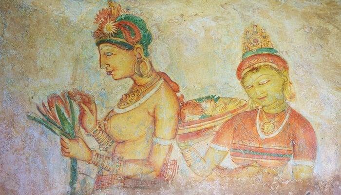 Sigiriya-Frescoes