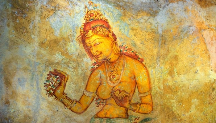 Sigiriya-paintings