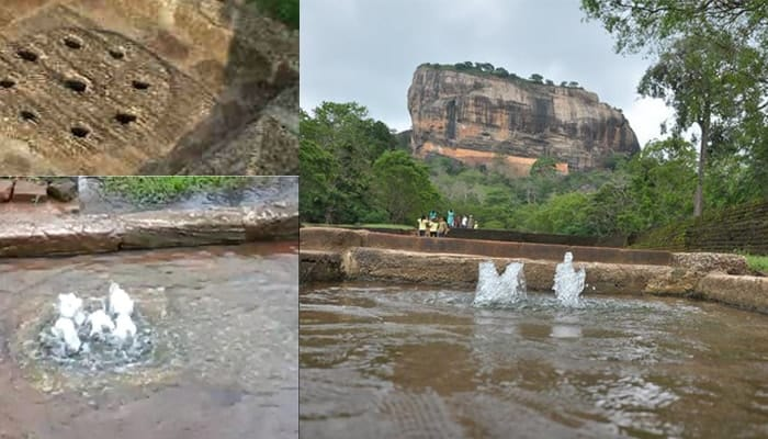 Water Fountain of Sigiriya
