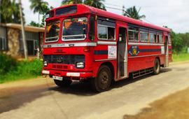 Bus to Sigiriya