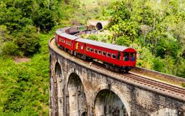 By train to Sigiriya